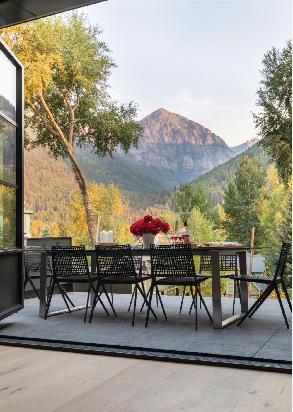 Telluride Home Terrace Views