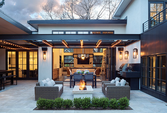Central Courtyard This Is Us Denver Home By Architect Carlos Alvarez Colorado Homes And Lifestyles Magazine Photo By Emily Minton Redfield