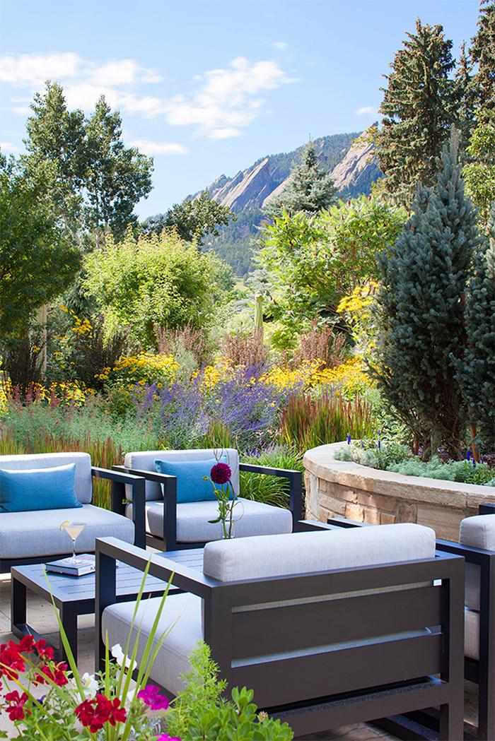 Chautauqua Boulder Home