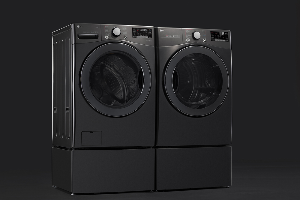 Lg Laundry With A Sanitize Cycle