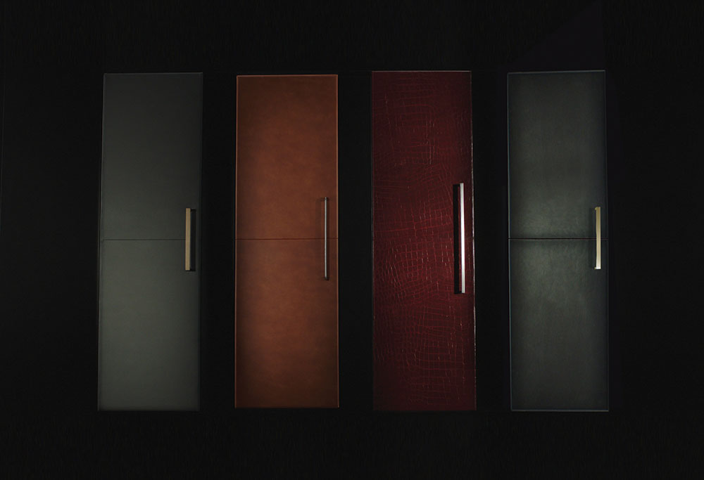 Leather Door Fronts From Jennair