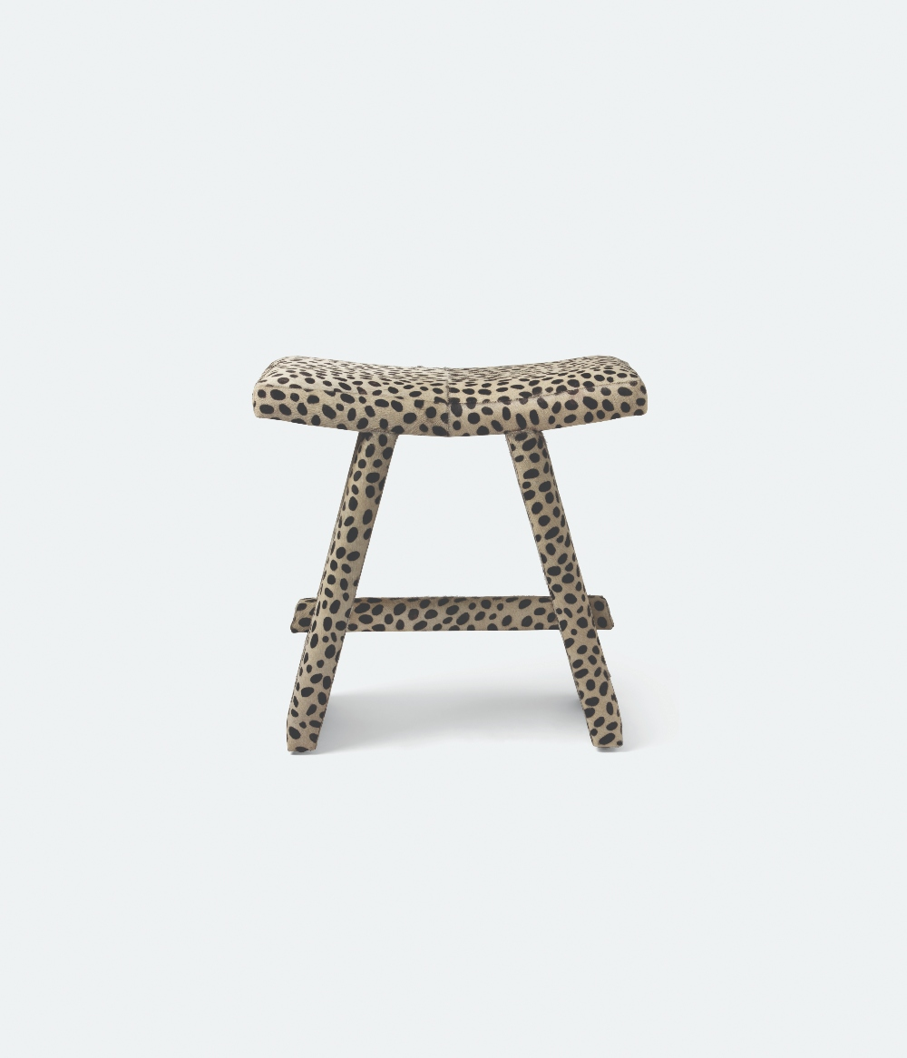 Made Goods Anwen Dalmation Stool