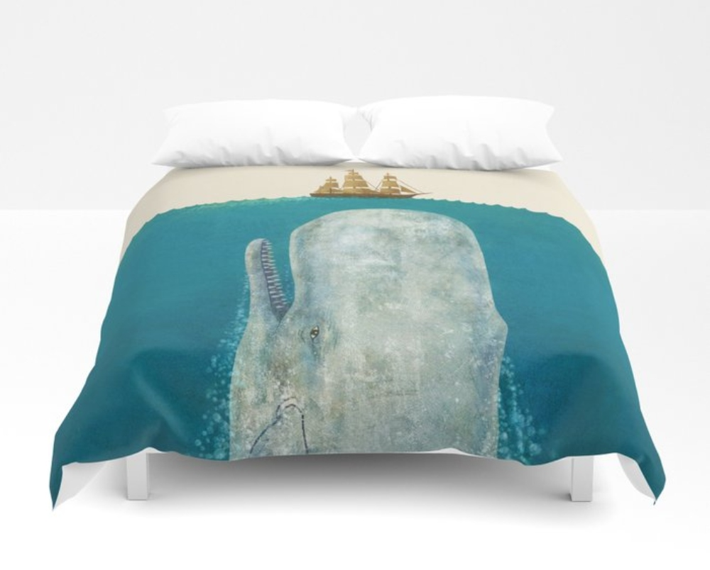 The Whale Vqy Duvet Covers