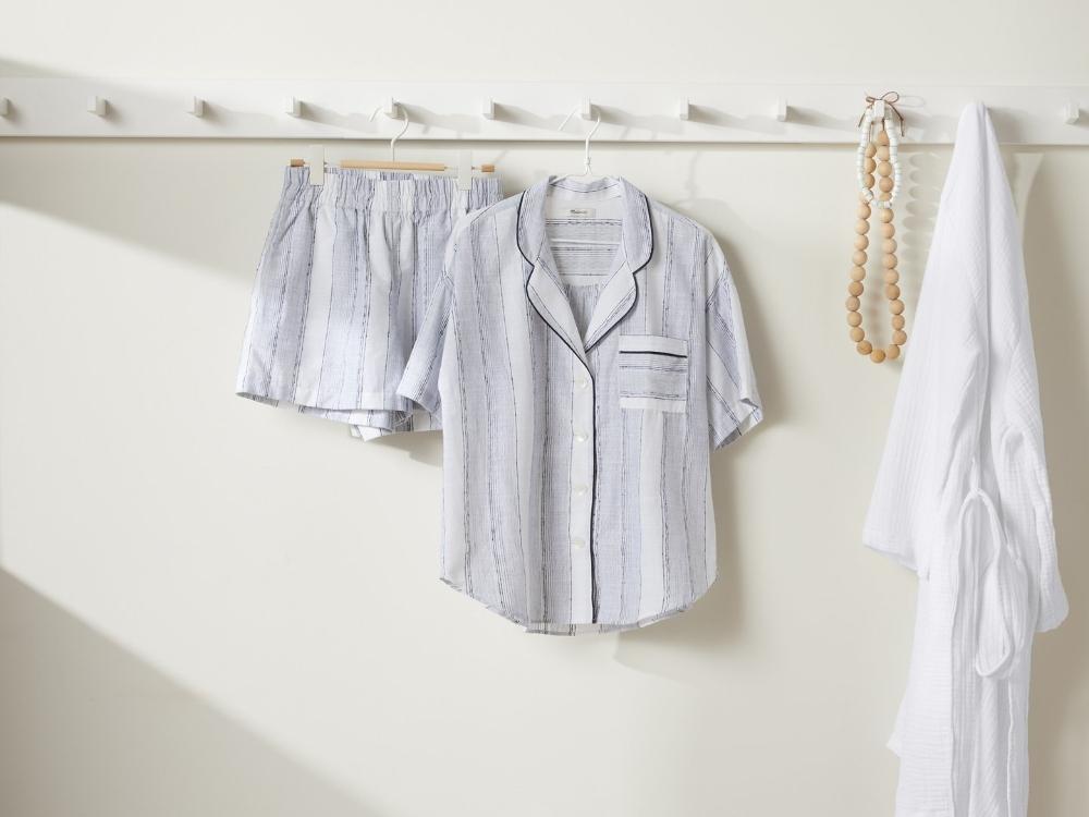 Striped Oversized Pajama Shirt Default Studio 18462 1440x
