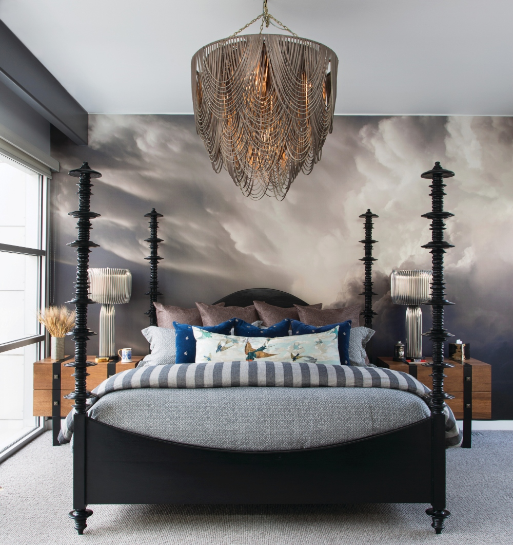 Downtown Denver Townhome Bedroom