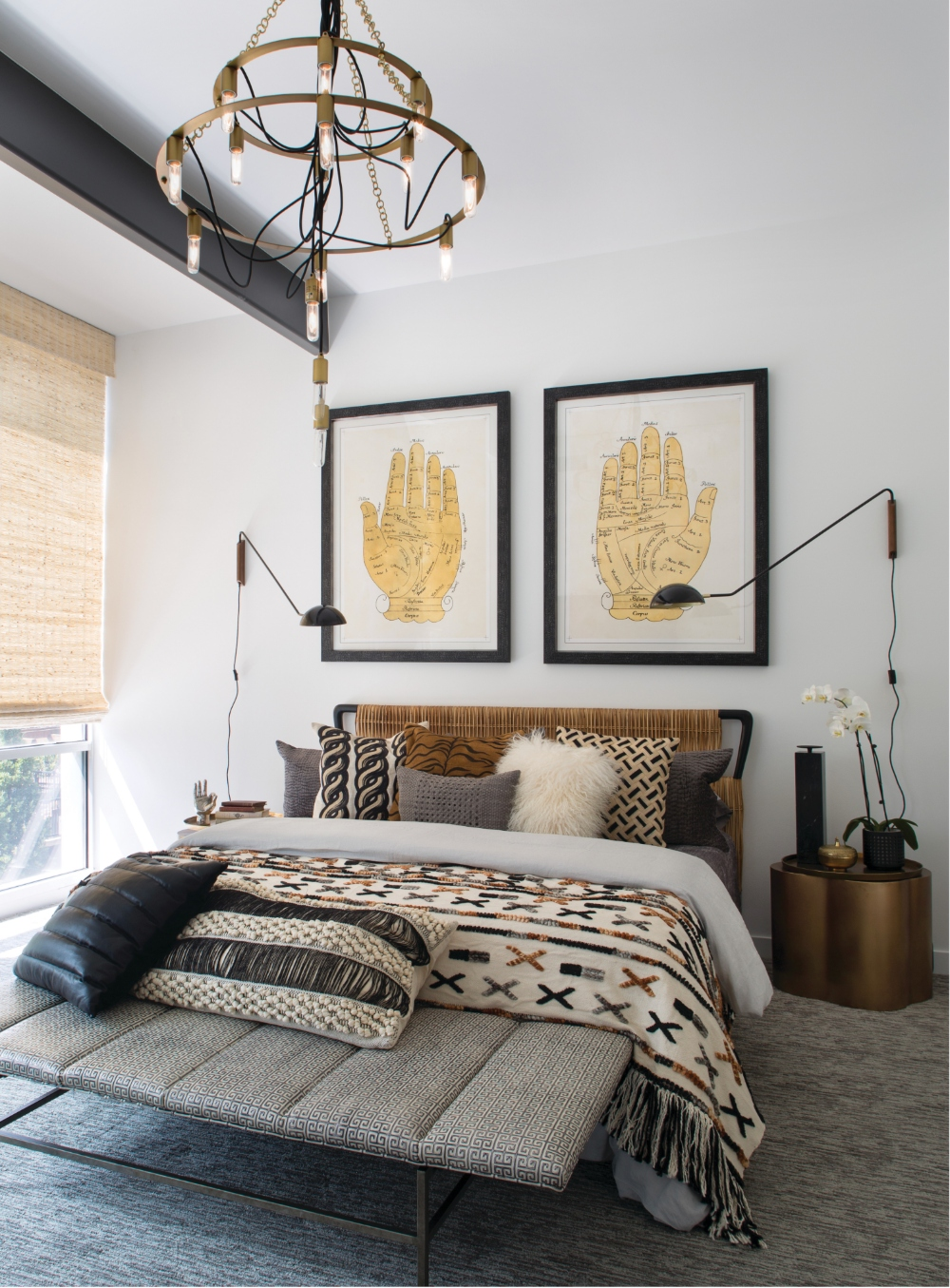 Downtown Denver Townhome Guest Bedroom