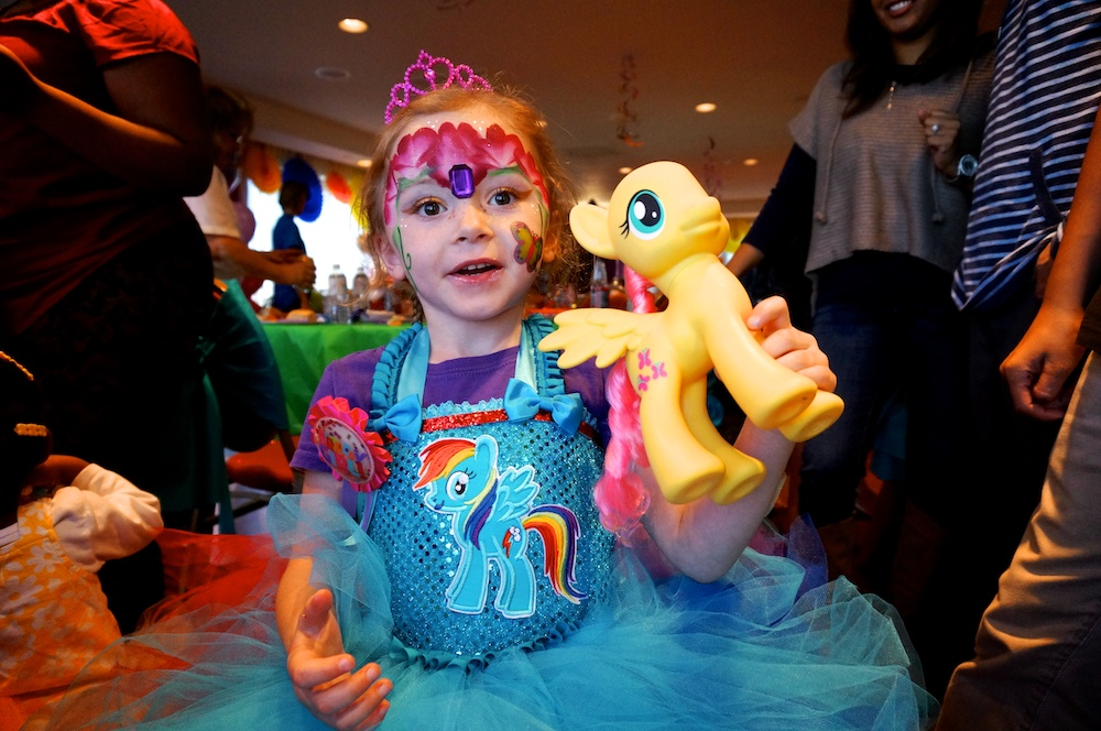 Addilyn Stacy Sundown To Have A My Little Pony Party 2014