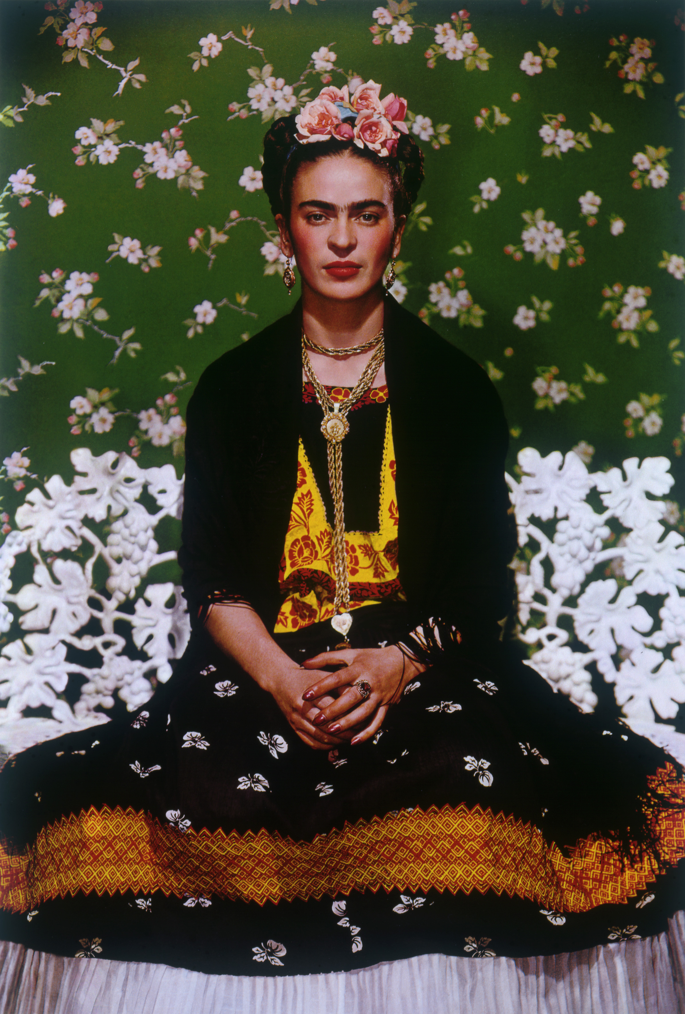 Nickolas Muray, Frida On White Bench #5, 1939