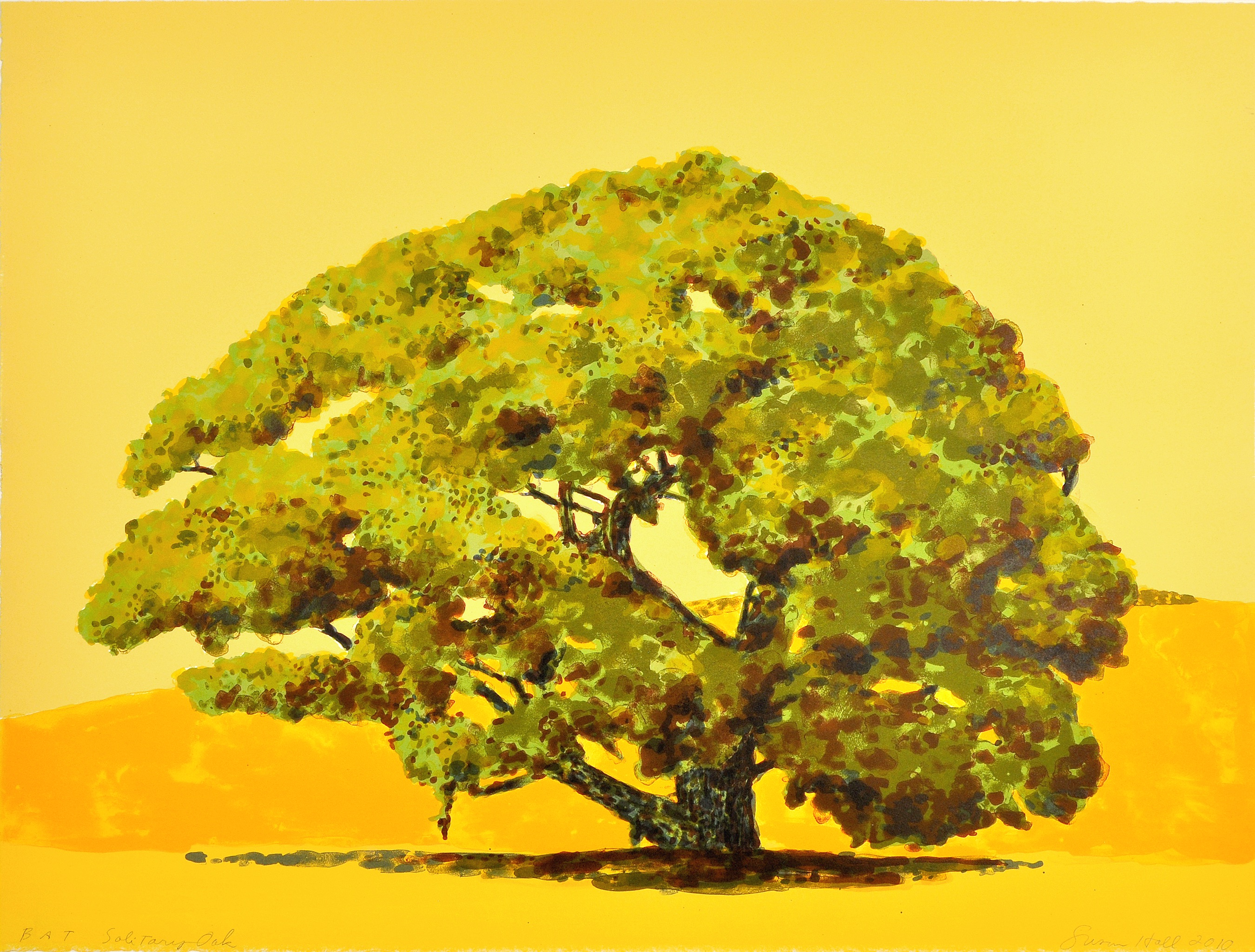 Susan Hall Solitary Oak Courtesy Of Sharks Ink