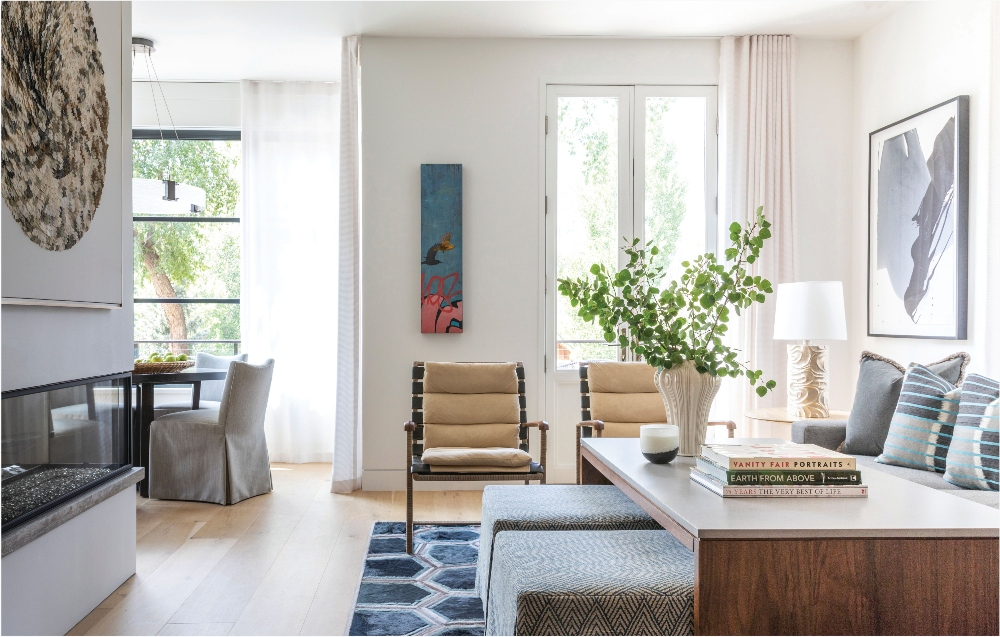 Telluride Home Living Room