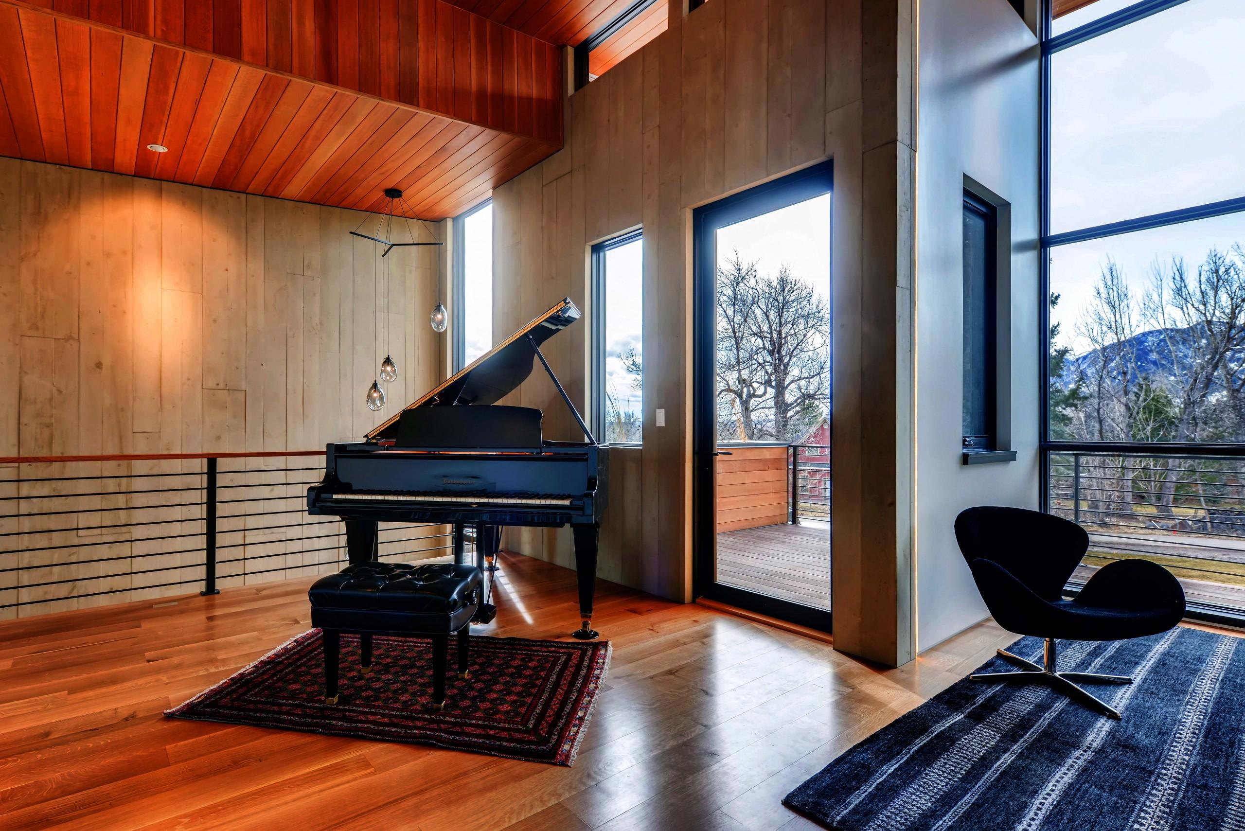 Upstairs Piano