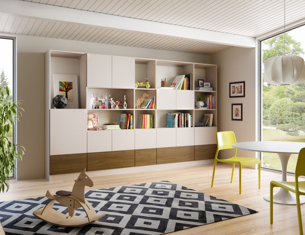 Modern Loft Library Tesoro Linen Lago Siena Gllry