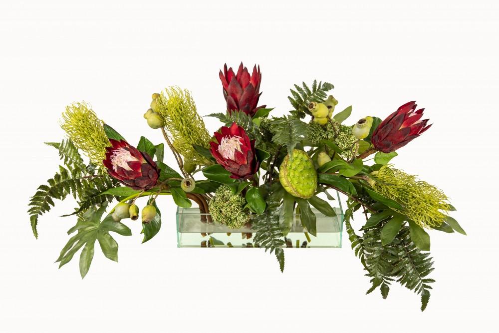 Protea In Acrylic