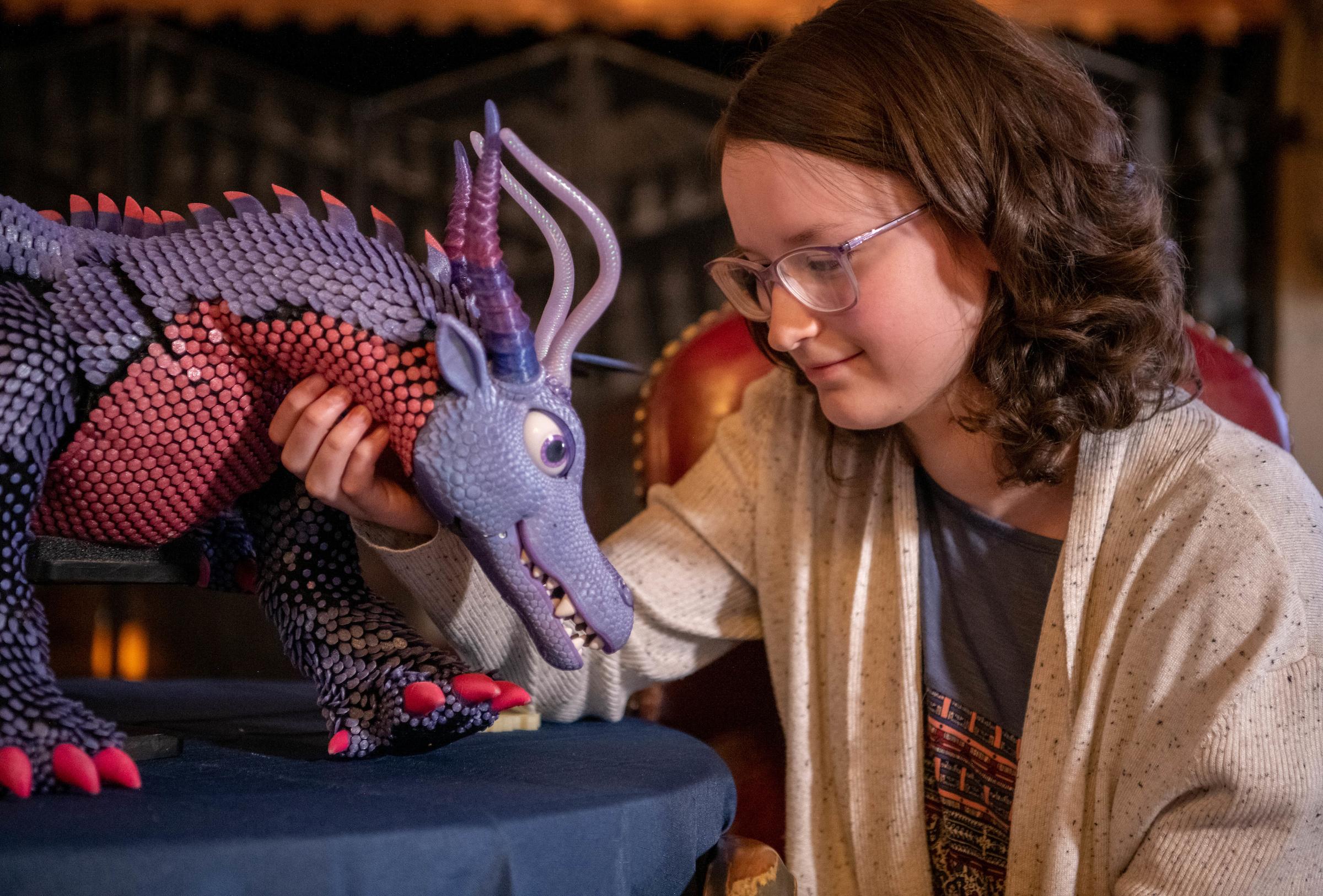 Belle Talks To Dragon Ellen Jaskol 1