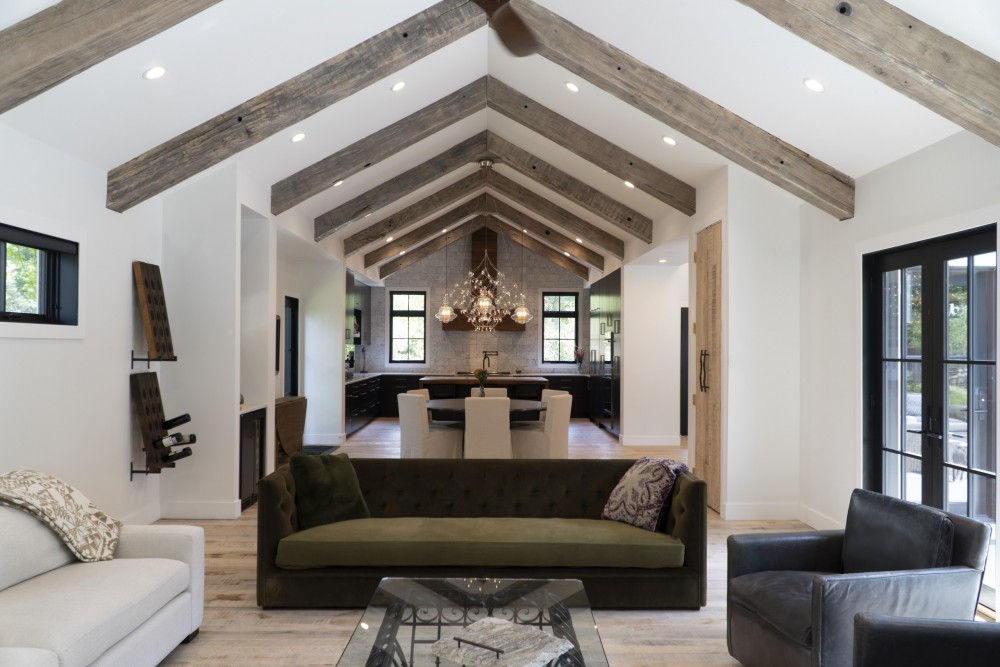 Highland Park Family Room To Kitchen Kipnis Architecture Planning