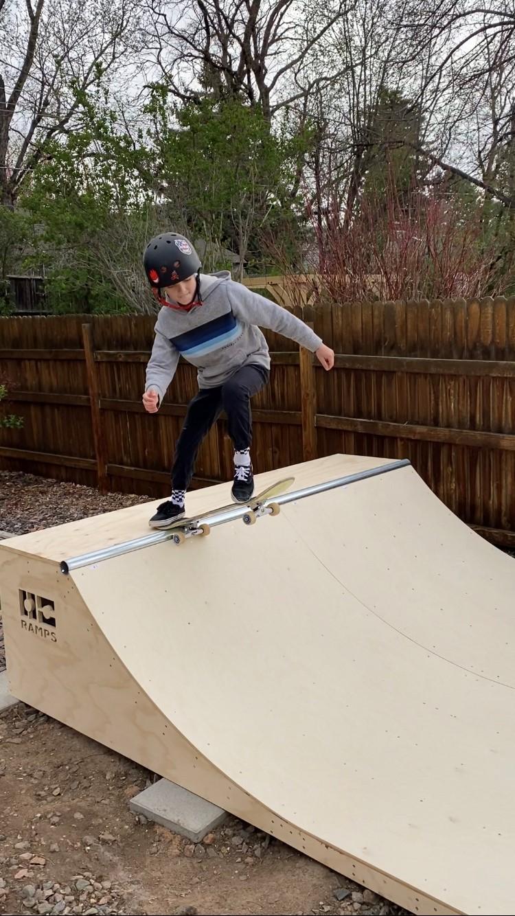 Walker On Skate Ramp