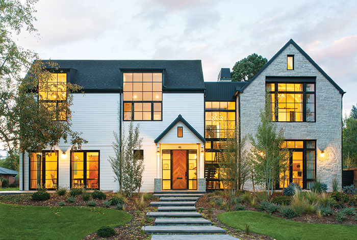Exterior This Spacious Modern Farmhouse Is A Forever Home
