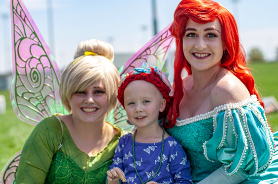 Rowen With Princesses