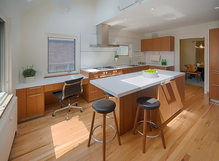 Before Cramped 80s Kitchen After Timeless In Cherry Colorado Homes Lifestyles
