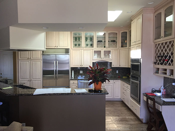The kitchen before, A Light-Filled Kitchen Remodel, Kitchen Distributors, Colorado Homes and Lifestyles magazine