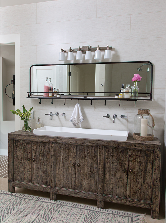Master Bathroom, Ashley Campbell Interiors, Colorado Homes and Lifestyles magazine