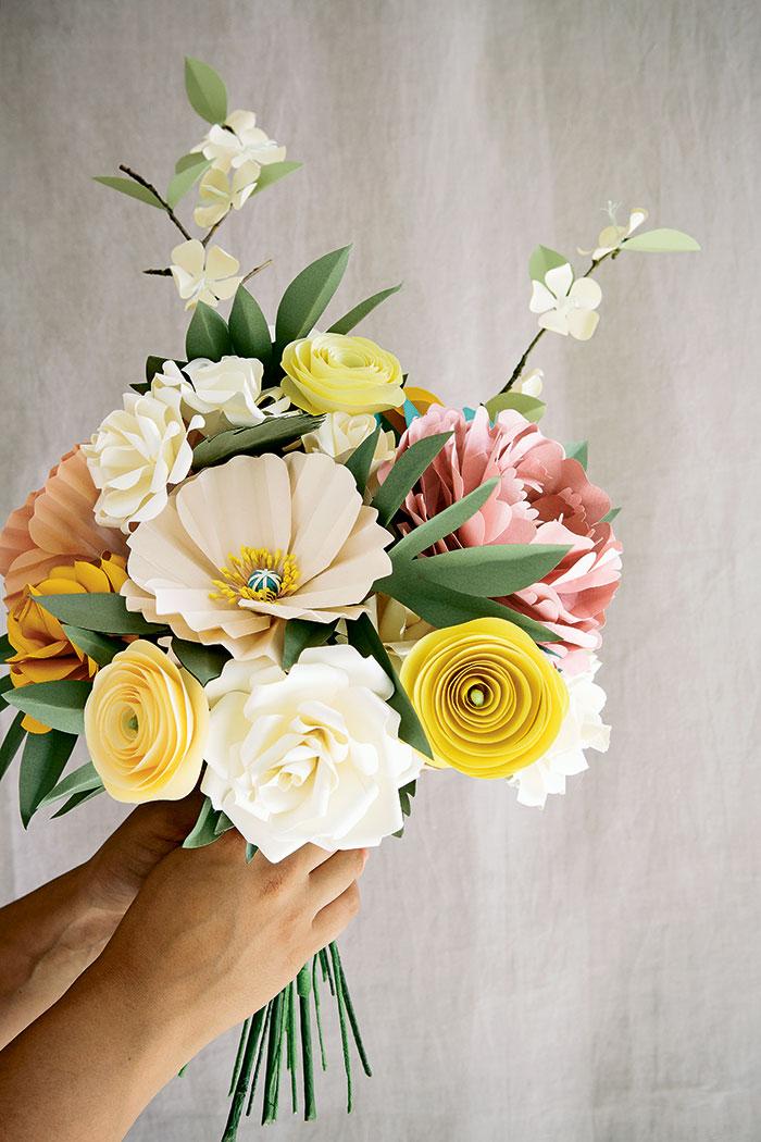 Paper Floral Masterpieces Colorado Homes Lifestyles