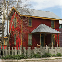 Crested Butte historic home